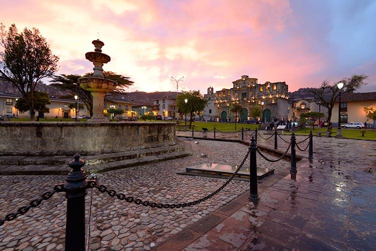 best cities to visit in peru cajamarca