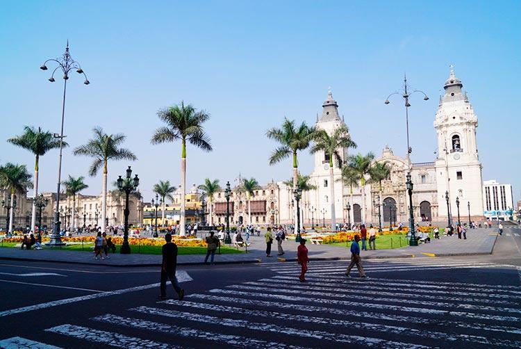 tourist attractions in Lima main square