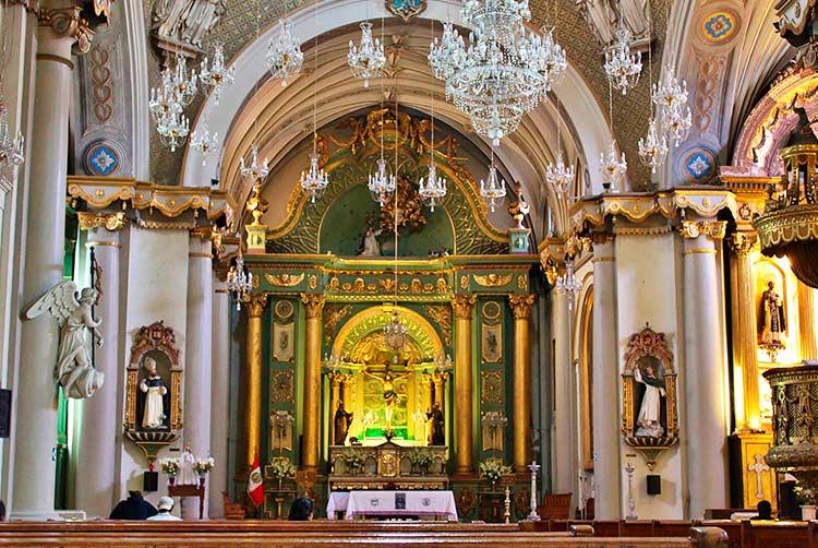 tourist attractions in Lima santo domingo