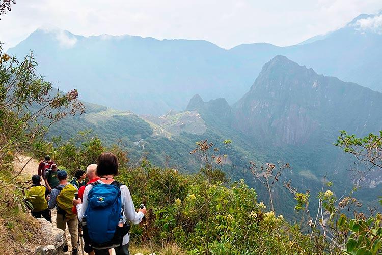 Lima to Machu Picchu by the inca trail