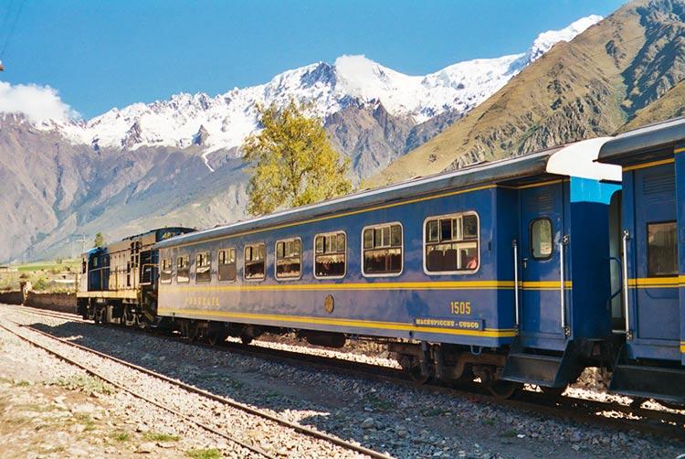 Lima to Machu Picchu by train