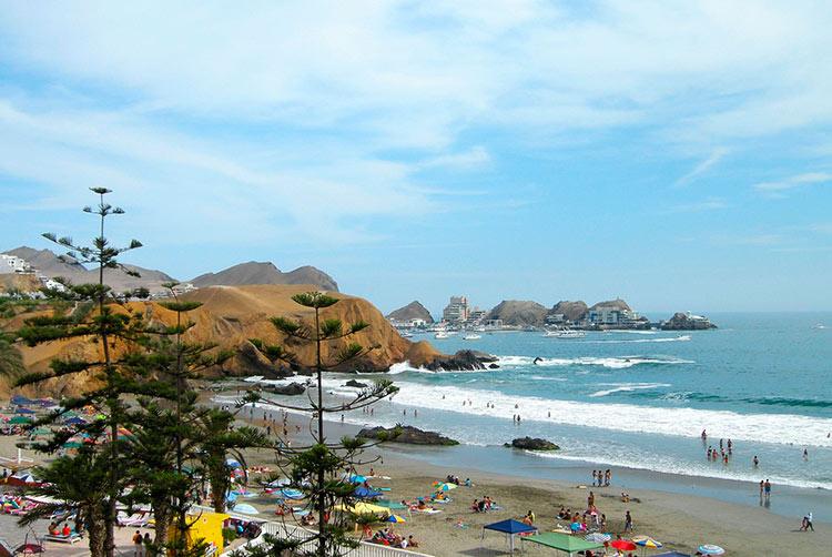 lima beaches santa maria