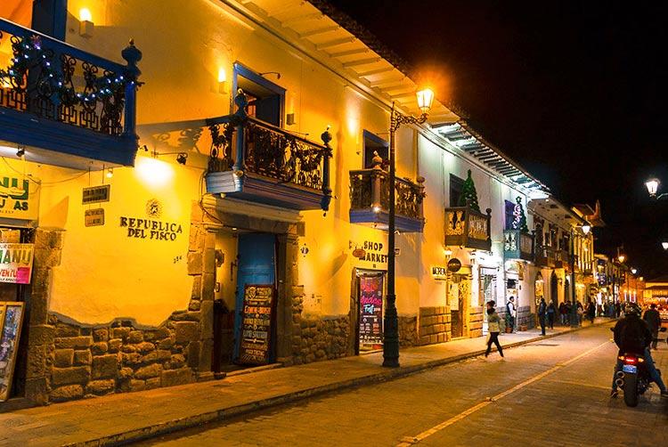 things to see in Cusco nightlife