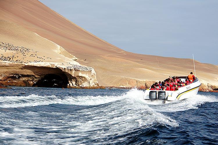 paracas national reserve ballestas island