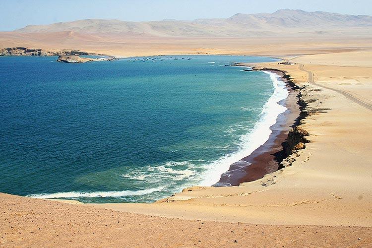 paracas national reserve beach